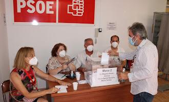 Votación de las Primarias Andaluzas del PSOE