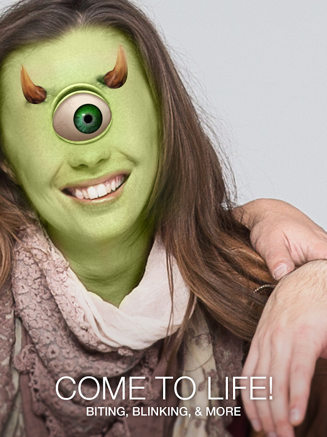 Monsterfy - Monster Face App Photo Booth- screenshot