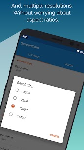 ScreenCam Screen Recorder App Download For Android 3