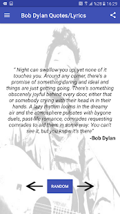 Bob Dylan Facts , Quotes and Lyrics - náhled