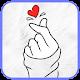 Finger Heart Wallpaper APK