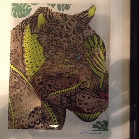 The lepard by Linda Tribuli - Drawing All Drawing