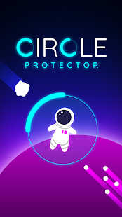 Circle Protector - space survival adventure Screenshot