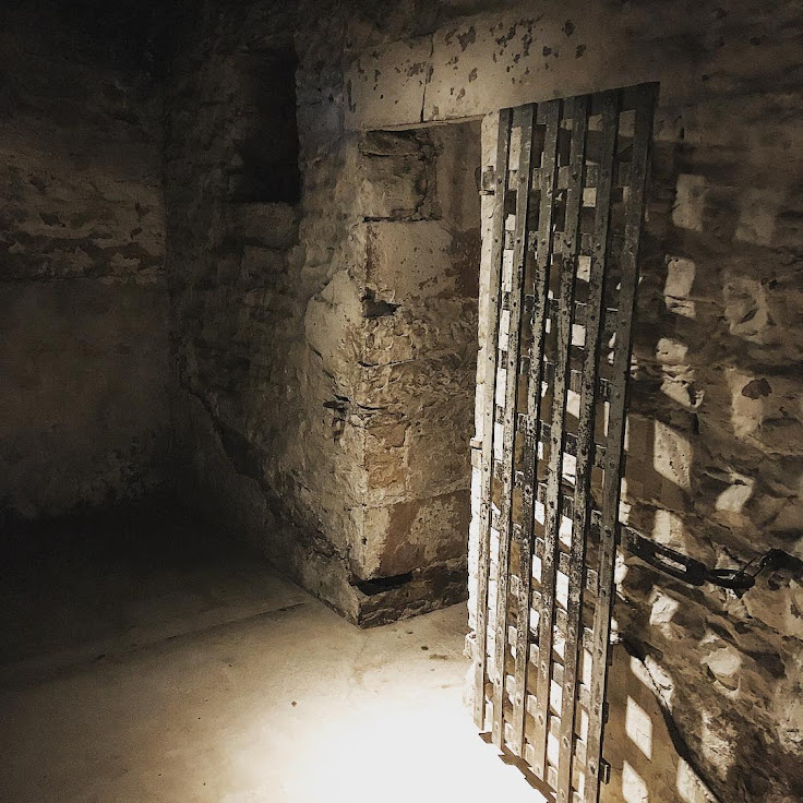 A jail cell in the Park City Museum. Photo: Jeff Stockton.