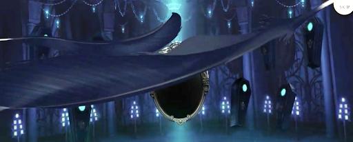 カラスの羽が2枚舞う:SR以上確定