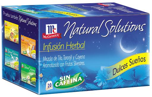 Te Mc Cormick Natural Solution Dulces Sueños 20Und