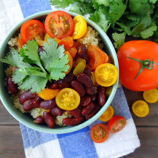 Rajma Quinoa (Indian-style kidney beans).