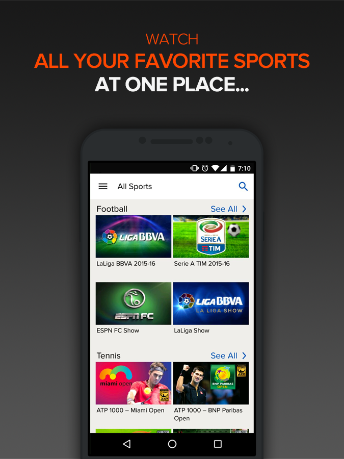 SonyLIV -Live TV Sports Movies- screenshot