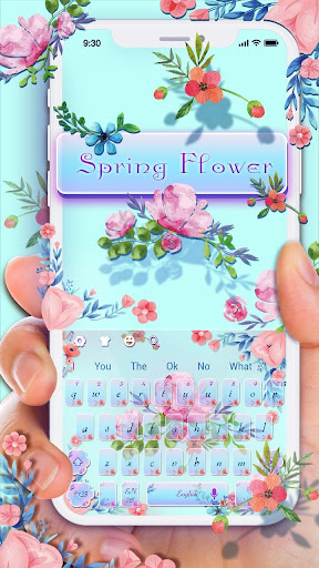 Spring Flowers keyboard screenshots 1