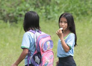 Photo: The School Run Añangu