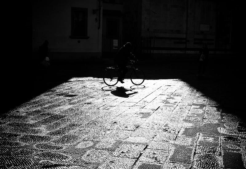 Biker's shadow di Sebastiano Pieri