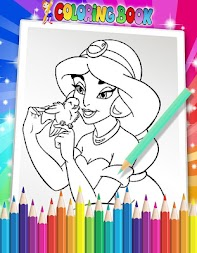 How To Color Disney Princess - Coloring Pages APK screenshot thumbnail 3
