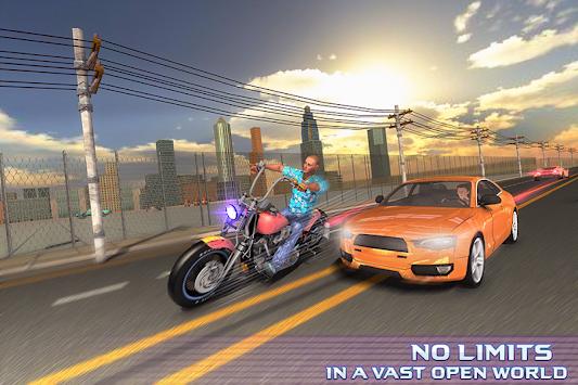 Gangster New City Car Driver Open World