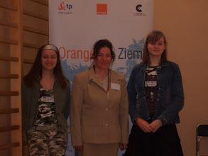 """Photo: projekt """"Orange dla Ziemi"""",debata w Warszawie"""
