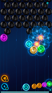 Magnetic balls: glowing neon- screenshot thumbnail