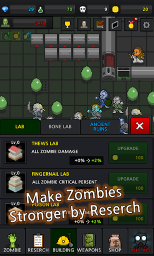 Grow Zombie VIP - Merge Zombies 36.1.2 screenshots 14