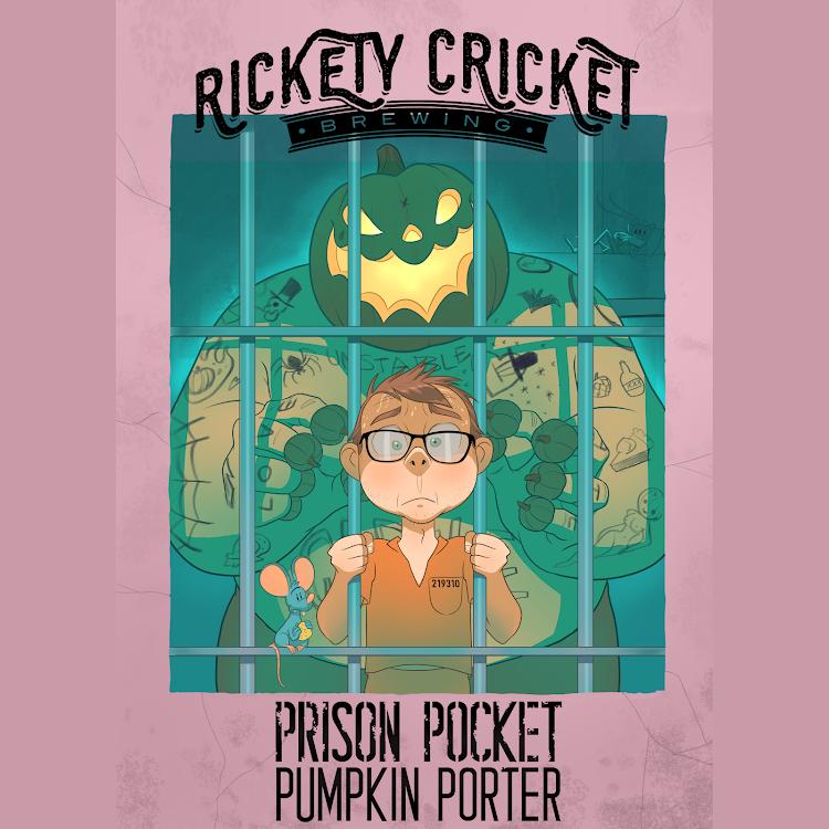 Logo of Rickety Cricket Brewing Prison Pocket Pumpkin Porter