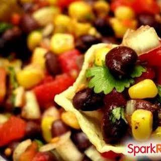 Bean, Corn & Avocado Salad.