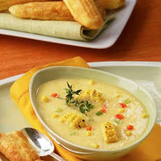 Roasted Sweet Corn Chowder.