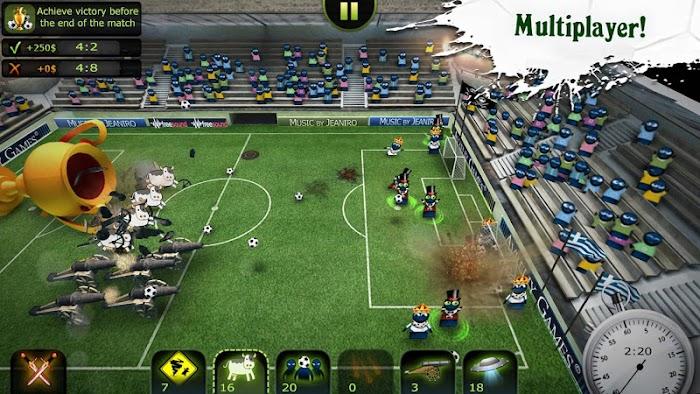 FootLOL: Crazy Soccer - screenshot