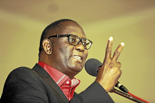 Two federations: Zwelinzima Vavi, former general secretary of Cosatu, is now the leader of rival organisation Saftu. The new federation is seeking a meeting with Cosatu amid national wage discussions. Picture: SUPPLIED