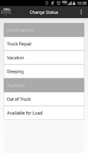 Panther Fleet Mobile App screenshot
