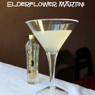 Elderflower Martini.