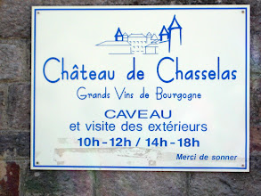 Photo: This Chateau is on the border of Burgundy and Beaujolais and produces both types of wine.