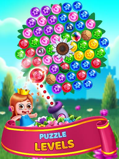 Flower Games - Bubble Shooter 3.7 screenshots 20