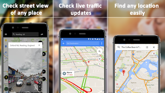 App Driving Voice Navigation & GPS Route Tracker APK for Windows Phone