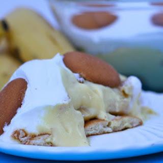 Easy Banana Pudding.