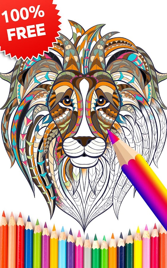 color me coloring book free screenshot