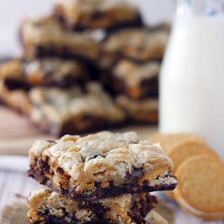 Marshmallow Oreo Brookies Recipe