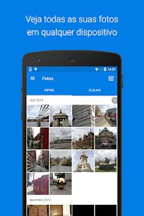 Dropbox: miniatura da captura de tela