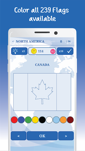 The Flags of the World u2013 Nations Geo Flags Quiz 5.1 screenshots 10