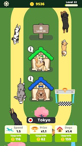 Dog Racing Idle apkmind screenshots 3