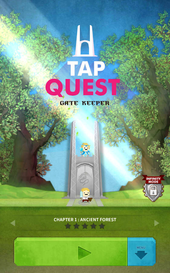Tap Quest : Gate Keeper- screenshot