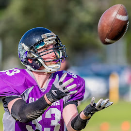 Gridiron Victoria: Gippsland Gladiators by John Torcasio - Sports & Fitness American and Canadian football ( image, gippsland gladiators, photo, action, gridiron victoria, sport )