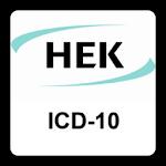 Die ICD-10-App der HEK Icon