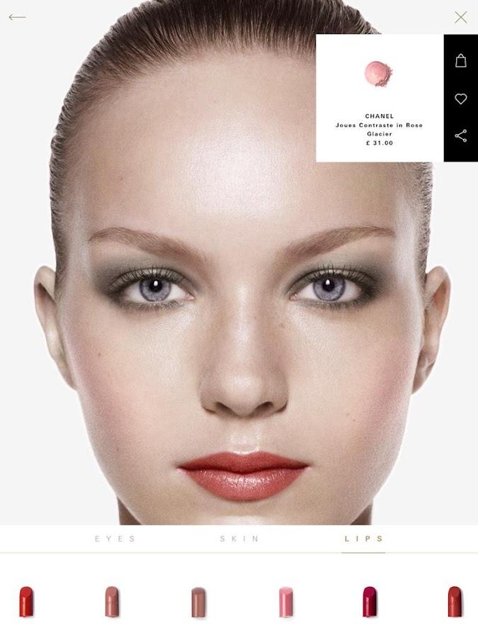 Harrods app- screenshot