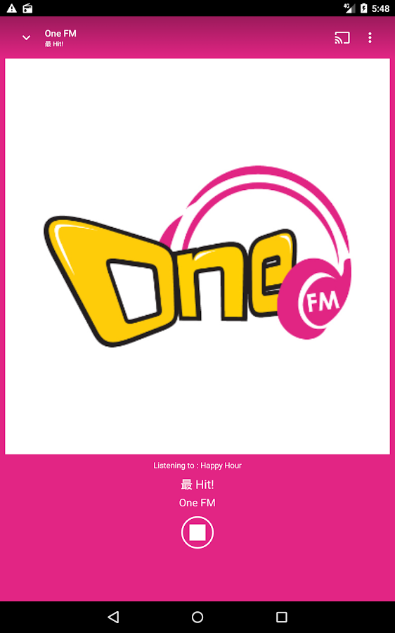 One FM- screenshot