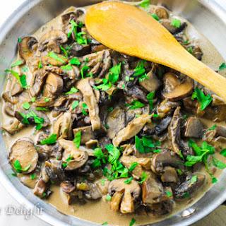 Creamy Wild Mushroom Sauce