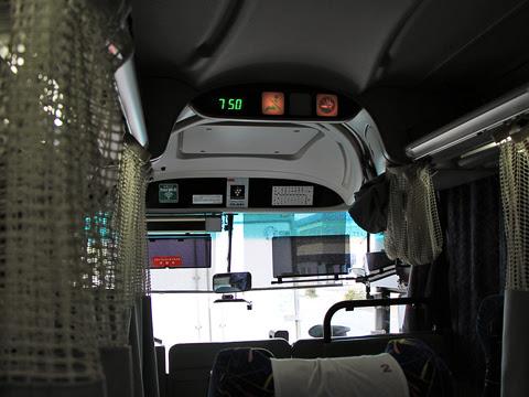近鉄バス「ひなたライナー」 2256 宮崎市内走行中