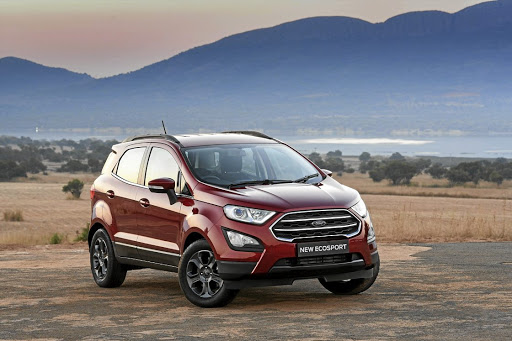You can now have a more dynamic-looking Ecosport but sadly Ford SA has no plans to bring the ST-line models. Picture: QUICKPIC