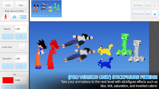 Screenshot for Stick Nodes Pro - Stickfigure Animator in Hong Kong Play Store