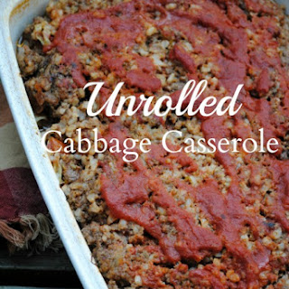 Un-rolled Cabbage Casserole