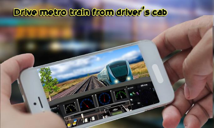 Metro Train Driving Simulator screenshot