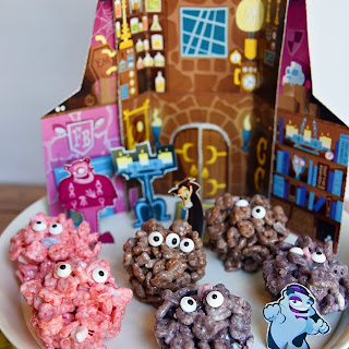 Monster Marshmallow Cereal Treats.