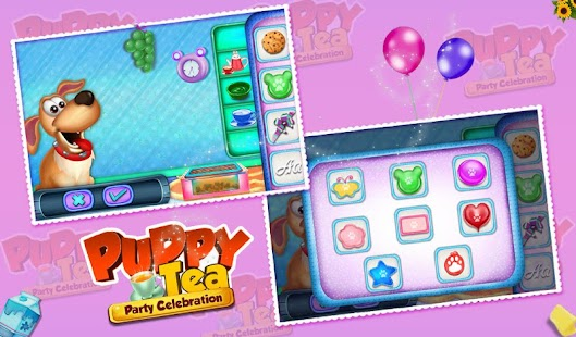 Puppy Tea Party Celebration- screenshot thumbnail