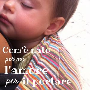 babywearing è comodità e coccole